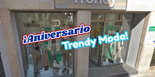 Aniversario de Trendy Moda